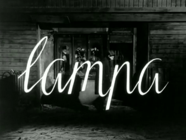 'La Lámpara' Roman Polanski-1959