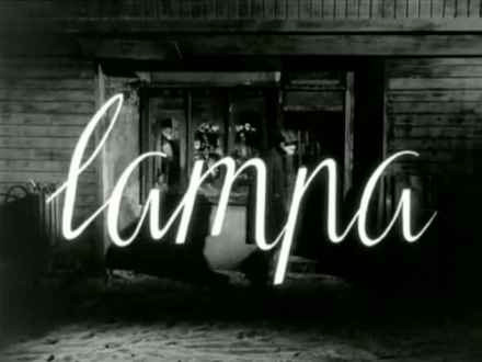 Roman Polanski short film, Lampa